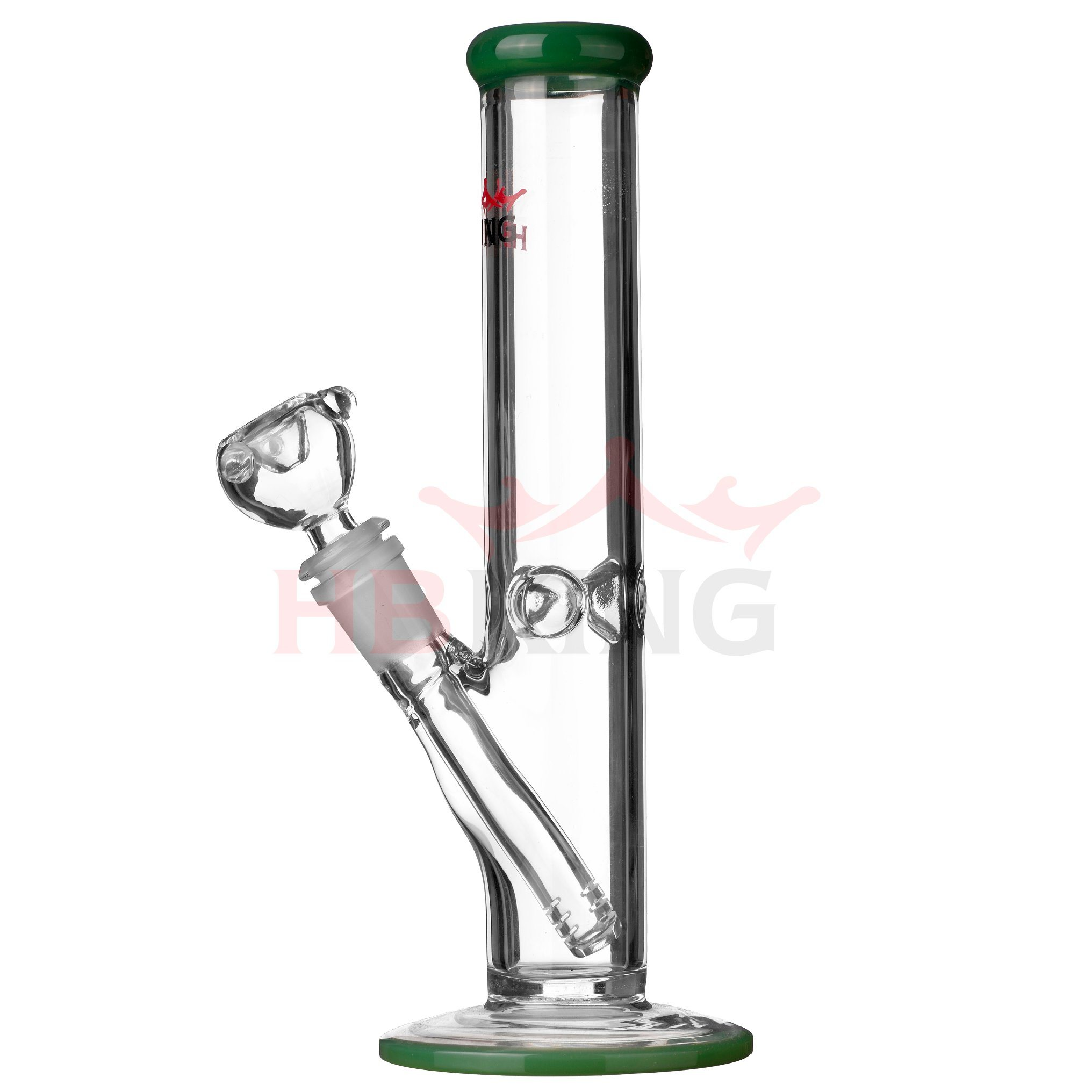 Mix Designs 10 Inches Handcrafted Arm Tree Base Beaker Spiral Vortex Coil Recycler Glass Pipe