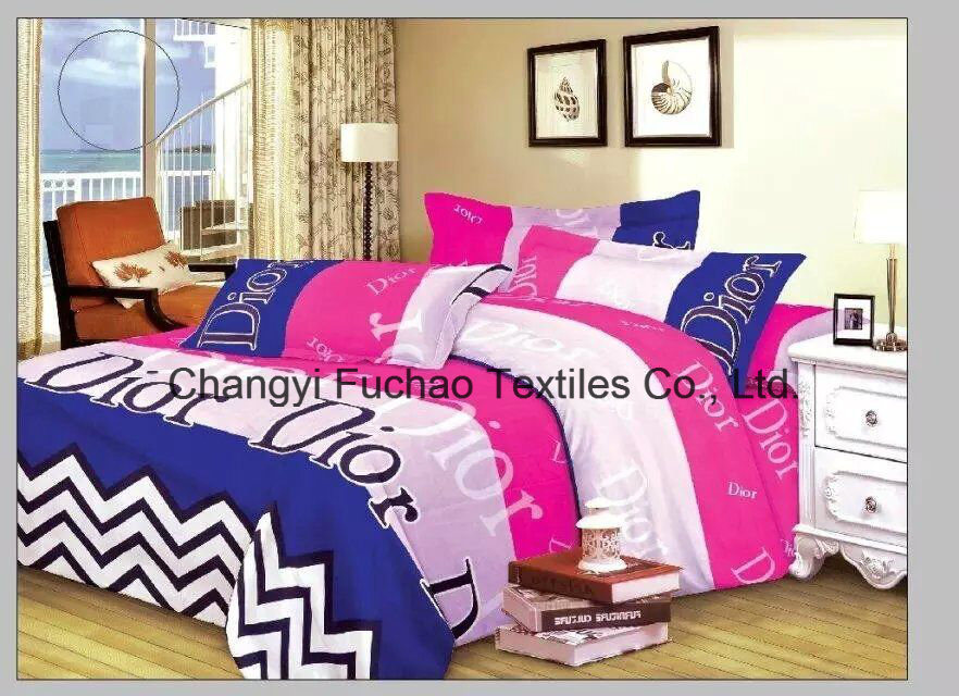 New Elegant Bedding Set King Size 4PC Microfiber Super Soft Life