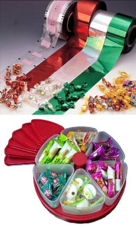 Twist Pet Film, Twist Polyester Film for Candy Packing