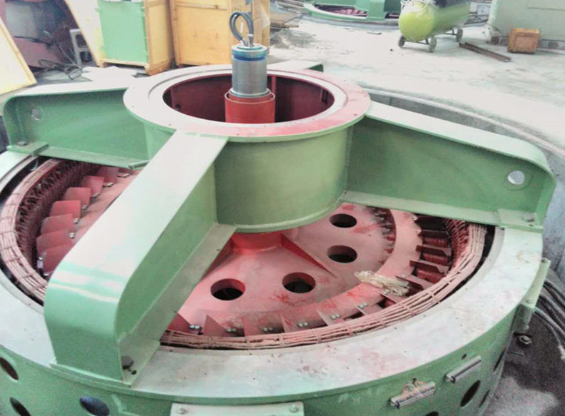 Vertical Francis Hydro Turbine Generator