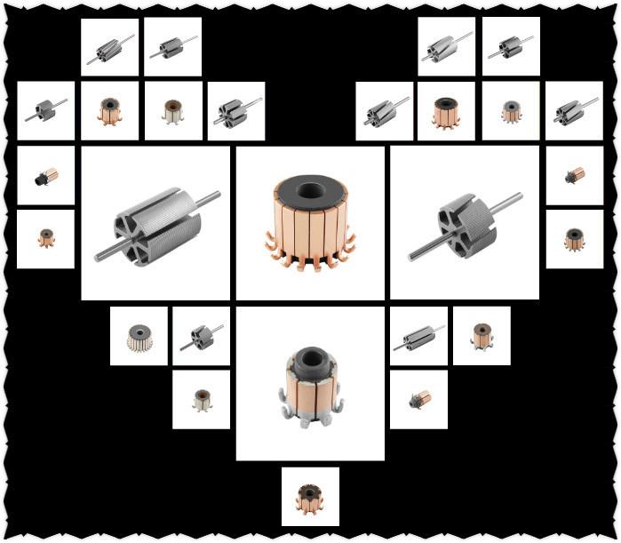 Motor Parts Rotor 21 X 6p