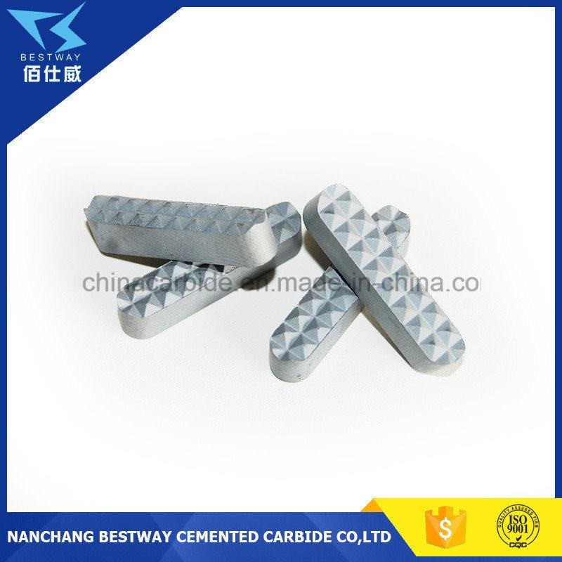 Tungsten Carbide Gripper Chuck Jaw Inserts