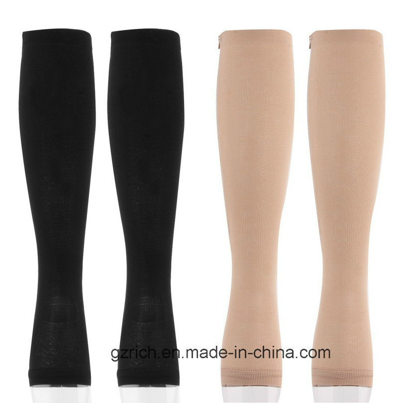 Medical Compression Stocking with Zipper