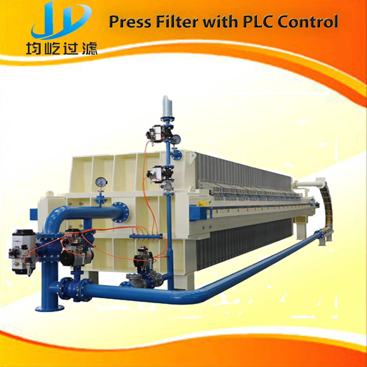Automatic Filter Press with PLC Control