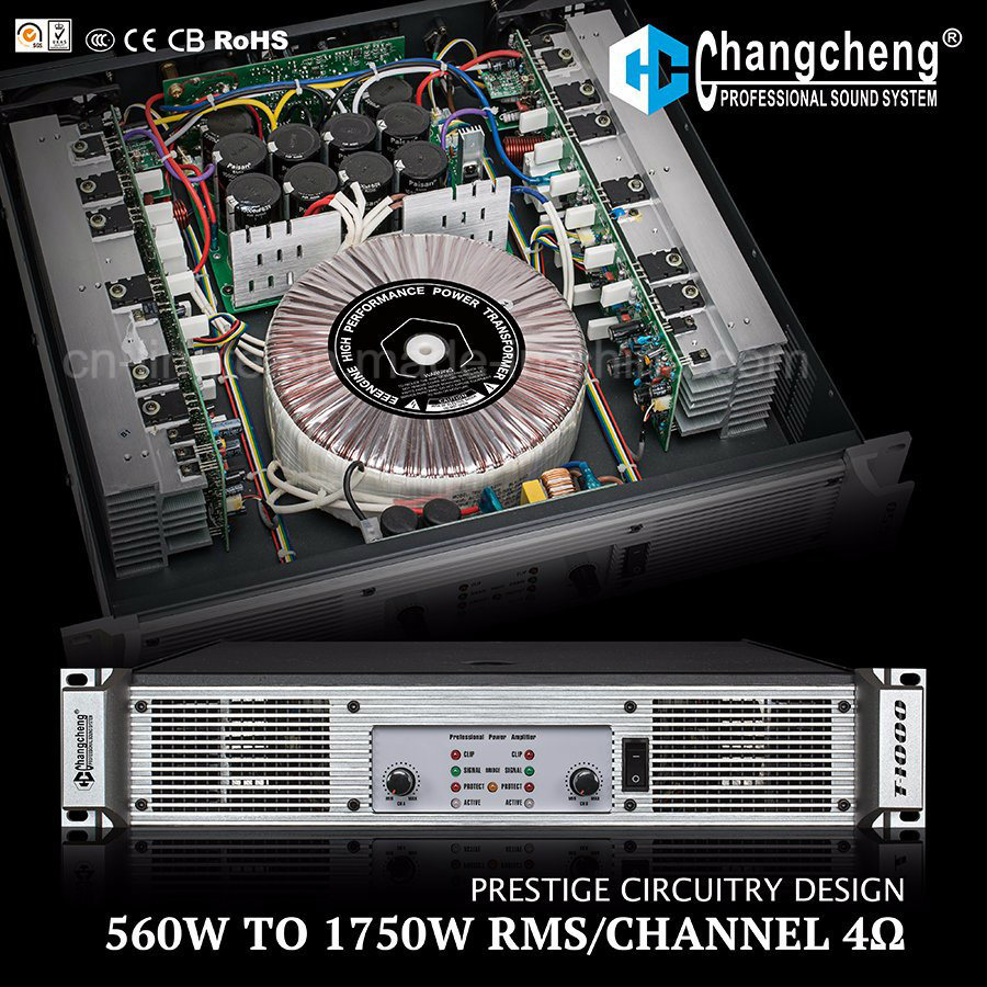 T Series High Quality Clear Professional Class H Power Amplifier
