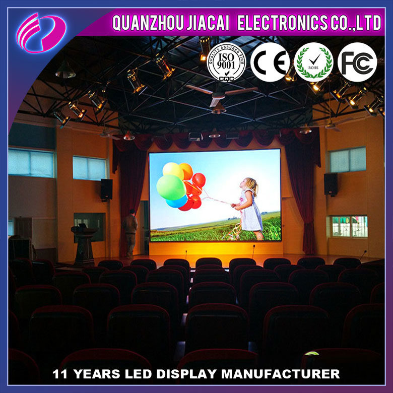 China Hot Sale Indoor P4 HD LED Display Screen