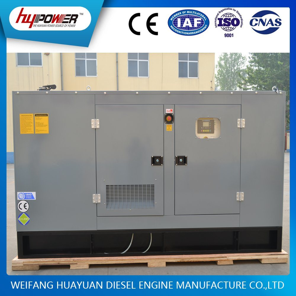 70kw Weichai Automatic Generator Set Powed by R6105 Diesel Engine