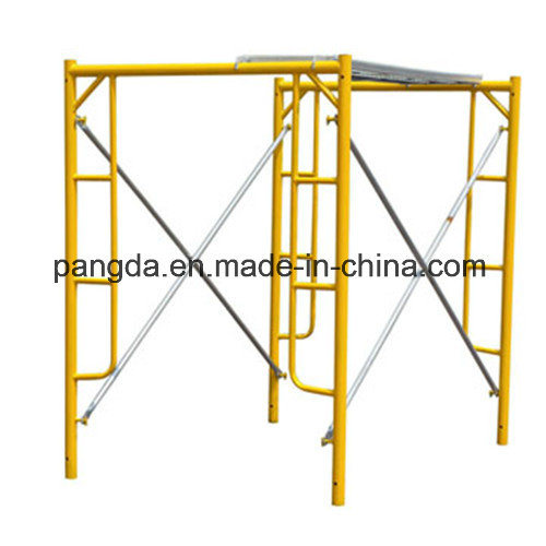 China SGS High Effeciency Movable Frame Scaffold with Multi-Usage