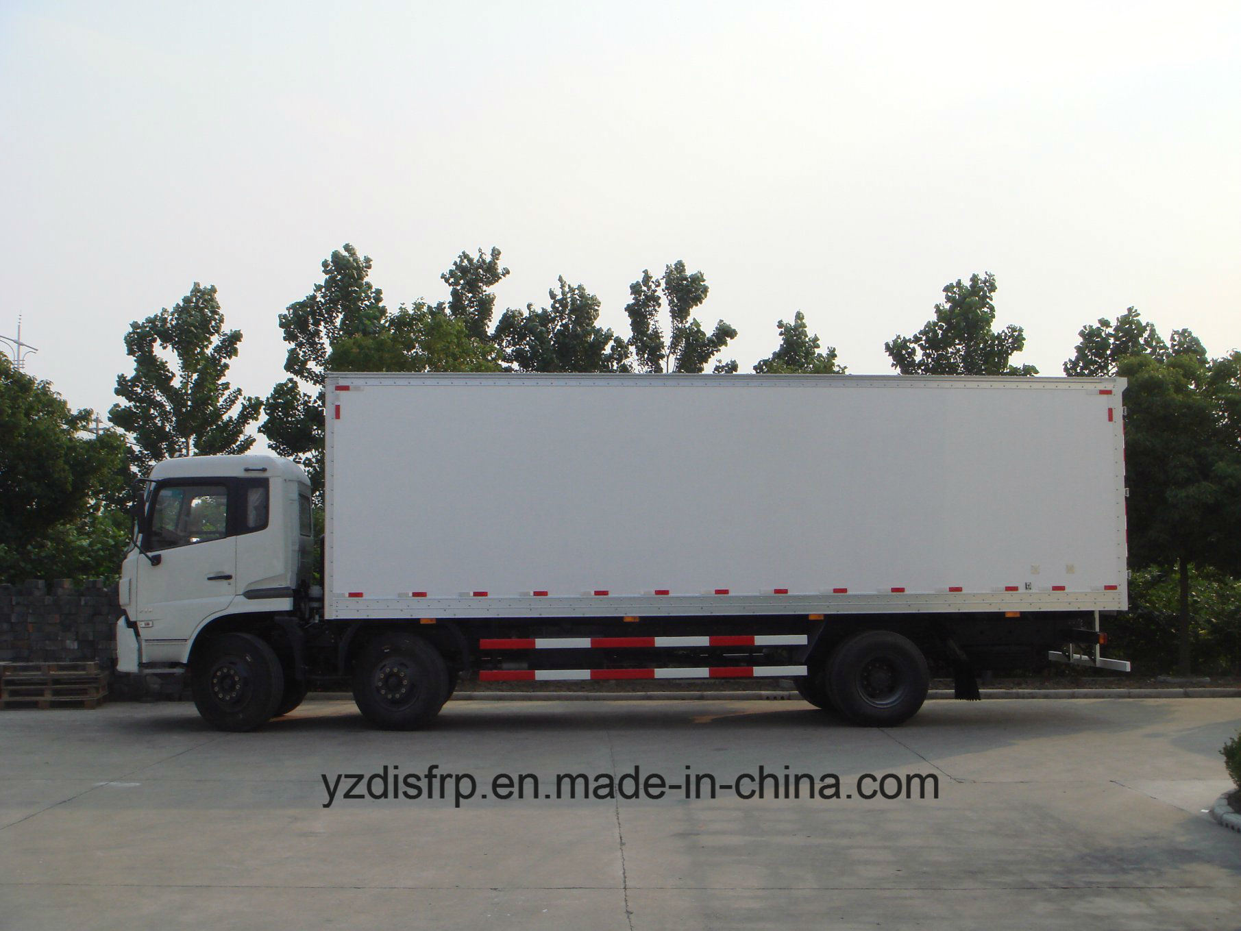 High Quality FRP Dry Cargo Truck Body