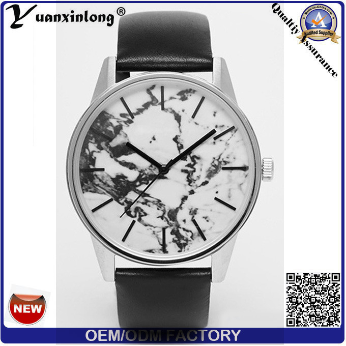 Yxl-091 Hot Selling Luxury Marble Face Watch New Design Fashion Watch Brand Leather Vogue Ladies Wrist Watch Custom Wholesale Watches