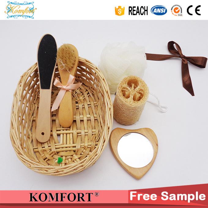 Bath Gift Set for Kids, High Quality Wood Bath SPA Product Gift Set (JMHF-119)