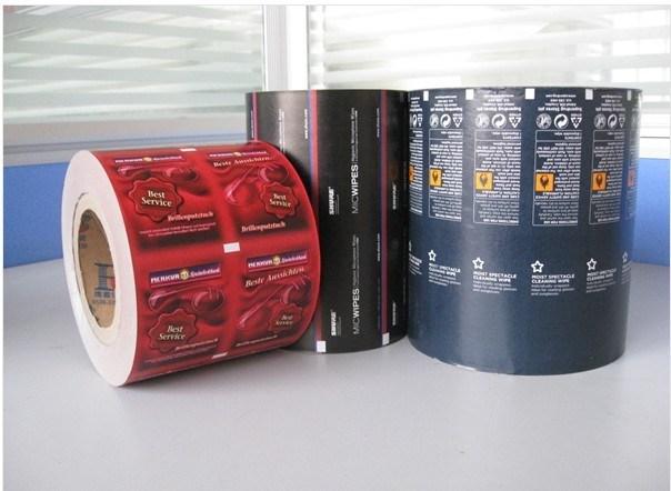 Medical Aluminium Foil Paper for Alcohol Prep Pads