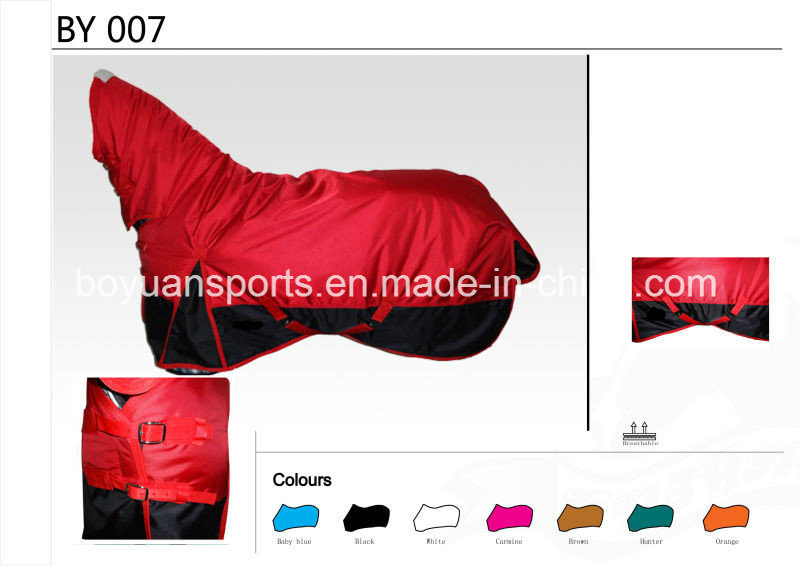 New Design Waterproof and Breathable 1680d Horse Rug OEM Welcome