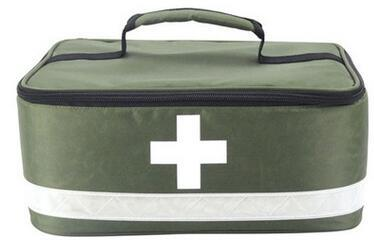 China Wholesale Promotion Polyester Travel Packet Kit First-Aid Medical Bags