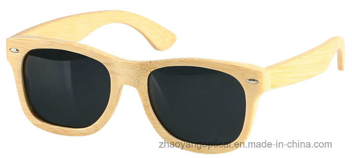 Accept OEM 2017 Hot New Bamboo Frame Sunglasses
