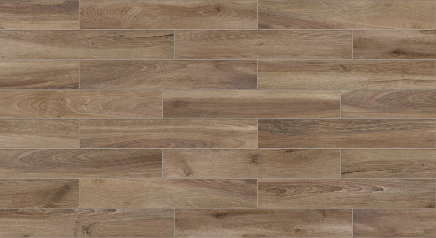 New Timber Wood Glazed Porcelain Tile for Wall and Floor (LF05)