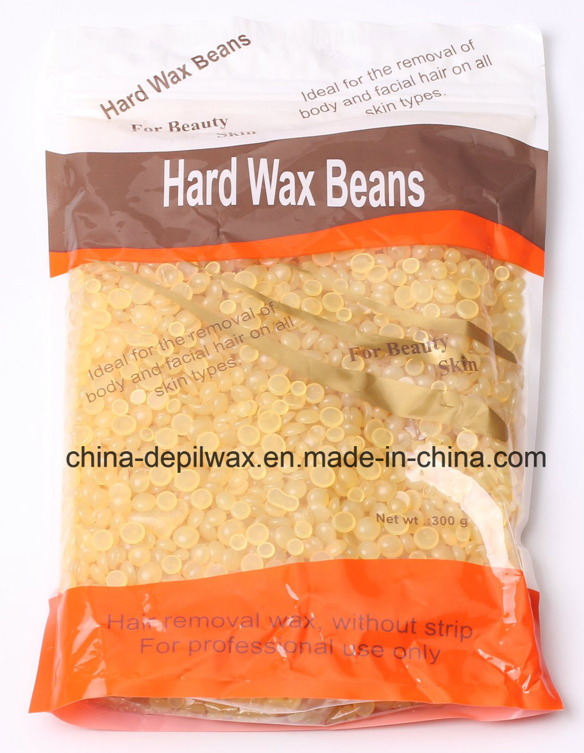 Depilatory Wax Natural Honey Hard Wax Pellets