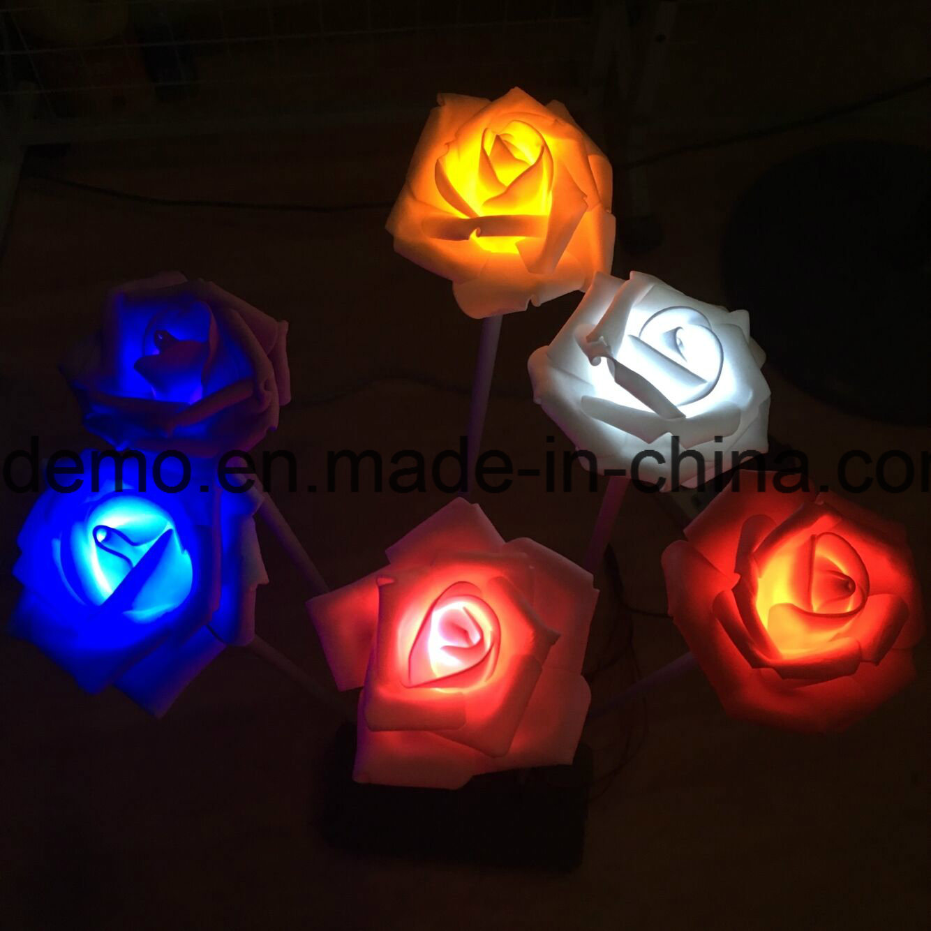LED Rose Flower Sea Decoration Light