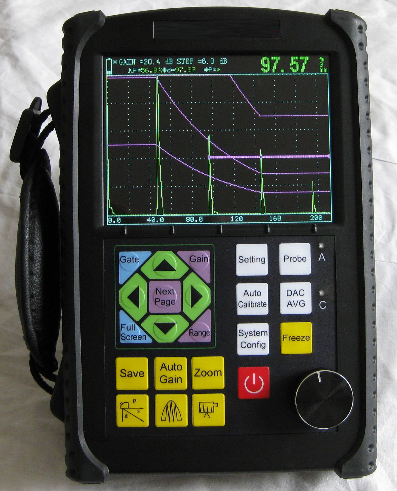 Measuring Tools Digital Ultrasonic Flaw Detector