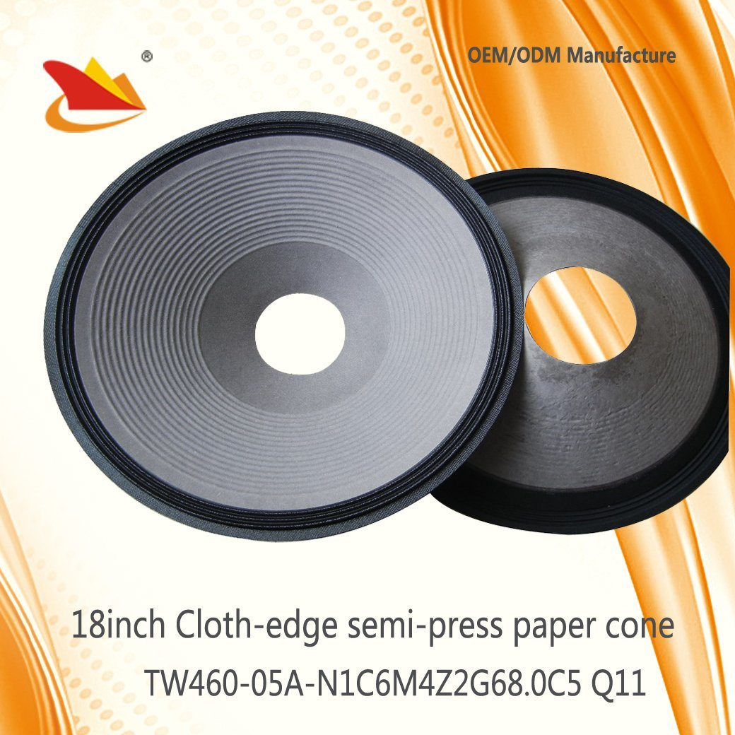 Cheap Price Paper Cone Speaker Parts 18inch Jbl Style Papar Cone - Speaker Cone