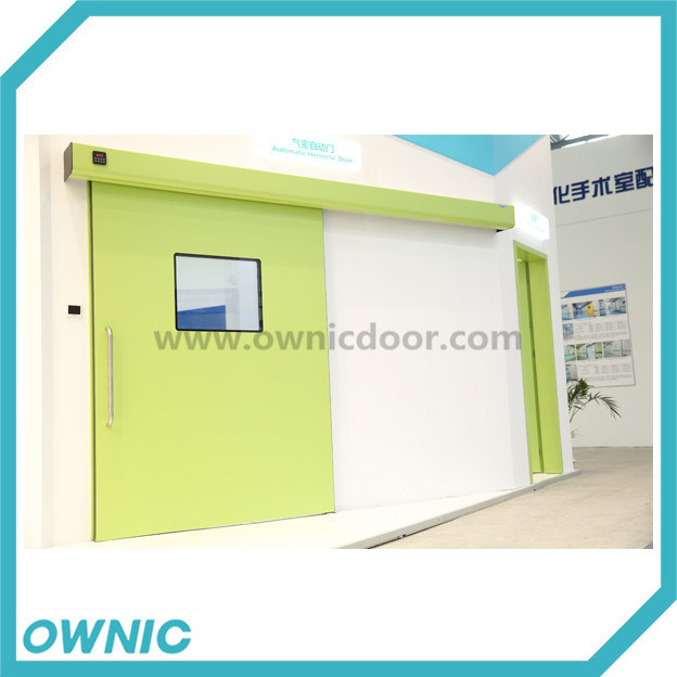Dmnh01-2 Automatic Hermetic Slidng Doors with Dunker Motor for Hospital /Operating Theatre (OR) /Electronic - Workshop