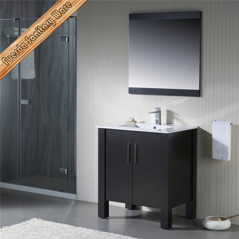 Fed-1169 Modern Solid Wood Bathroom Vanity Bathroom Cabinet
