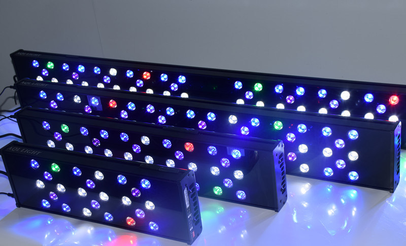 Hot 72W 40cm Programmable and Dimmable Marine LED Aquarium Lighting