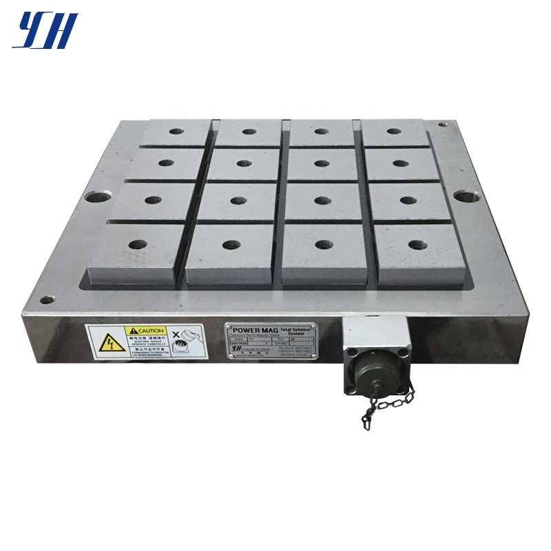 Electro Permanent Magnetic Workholding for Milling