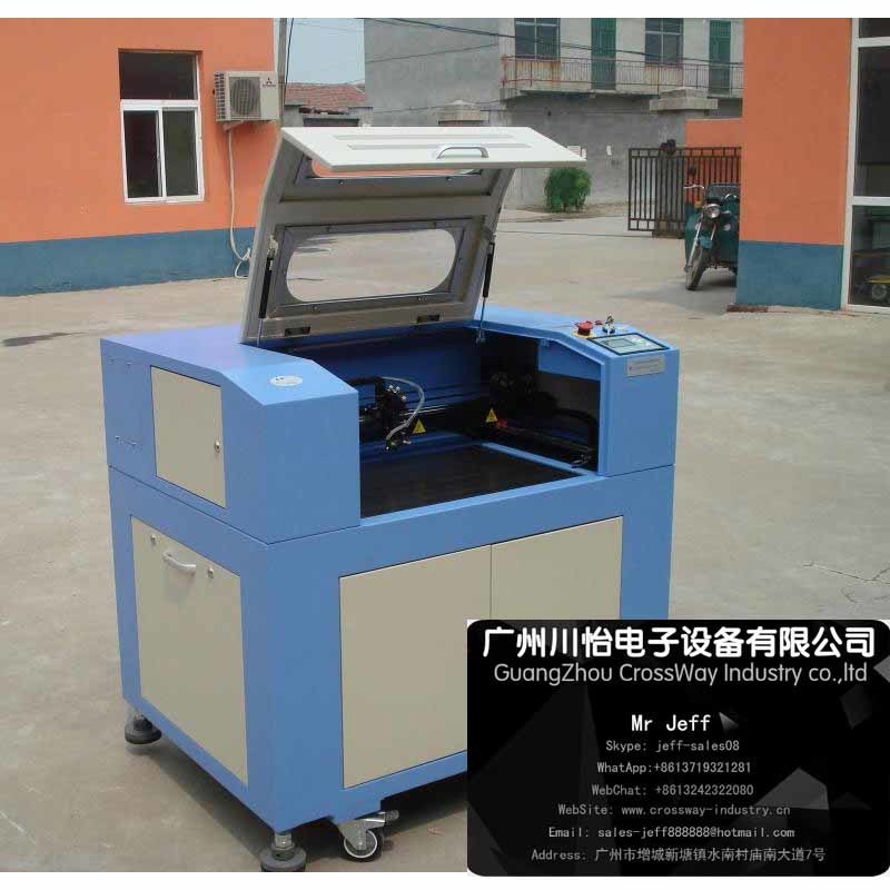 Hot Sale CO2 Laser fabric Cloth Engraver Carving Machine 6040