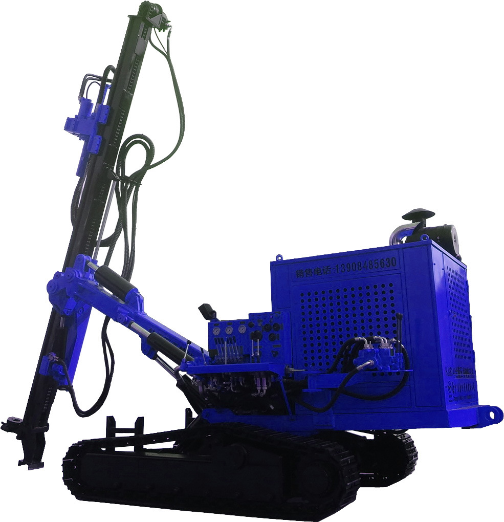 Hjg Integrated Hydraulic DTH Drill Rig