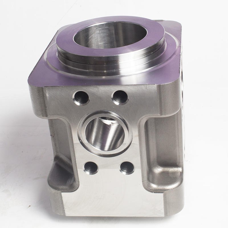 Center Block Part /Water Pump Part/CNC Machining Parts
