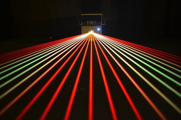 Pure Diode Mini Star Laser Light Show Portland