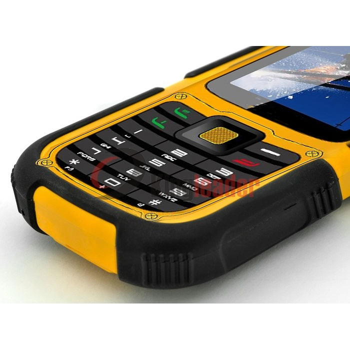 3G WCDMA Rugged Waterproof Mobilephone with Ce (W26C)