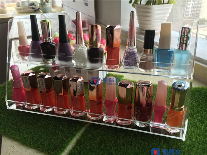 Acrylic Tabletop Rotating Makeup Cosmetic Box & Organizer