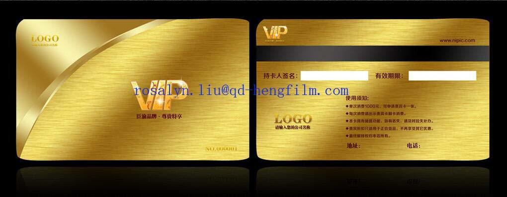 Rigid PVC Film Printed for Card Base