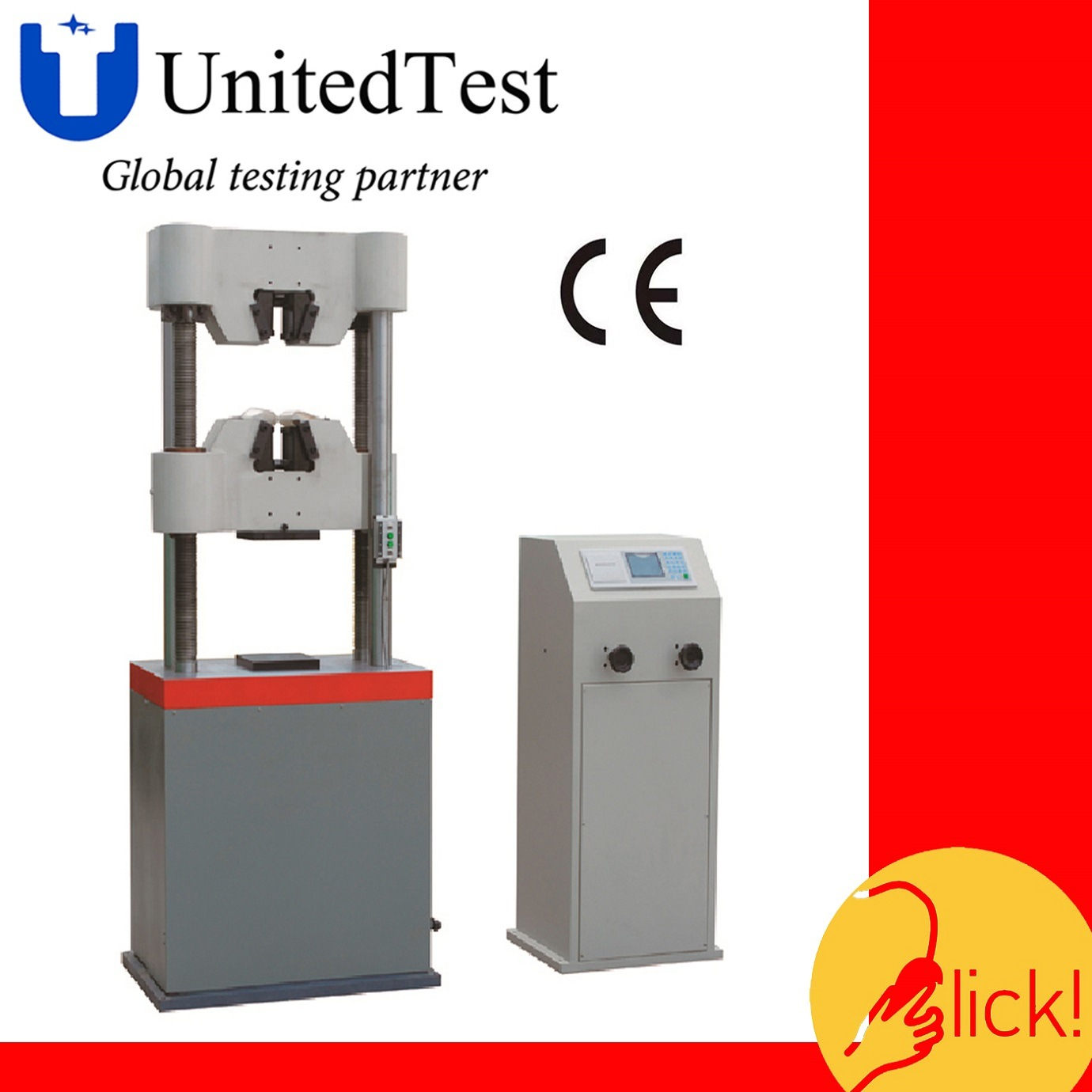 WES-B Series Digital Display Hydraulic Universal Testing Machine