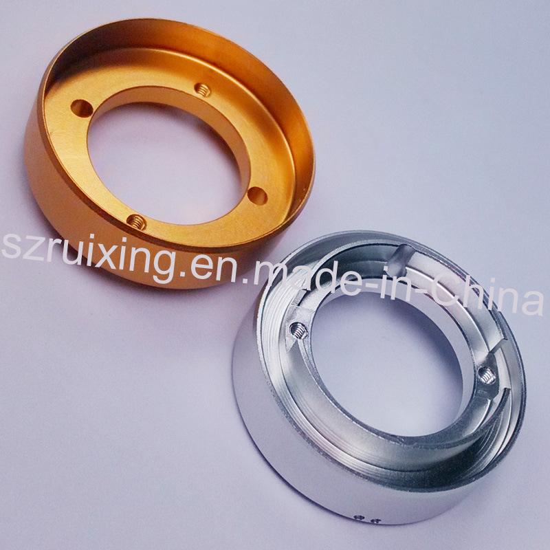 Precision Metal Parts for Glare Flashlight