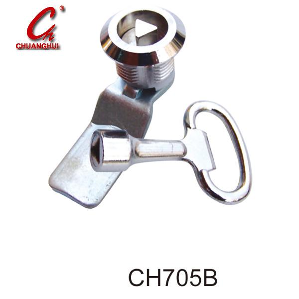 Zinc Iron Brass Furniture Accessory Desk Drawer Lock (CH139-22)