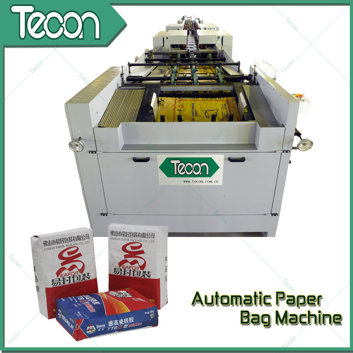 CE Certificate Automatic Paper Sack Making Machine