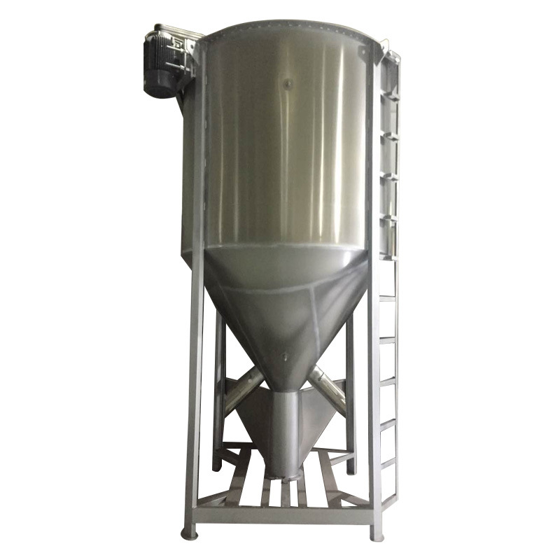 Industrial Vertical Electric Plastic Homogenizer for Flakes Granule Powde Manure Feed etc.