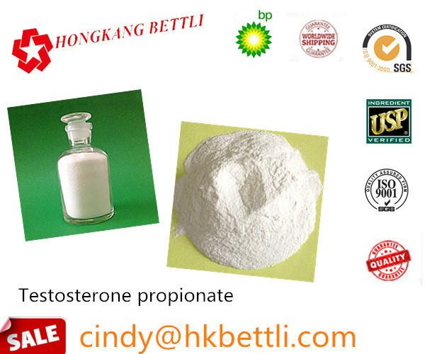 Raw Steroid Testosterone Propionate for Bodybuilder CAS 57-85-2