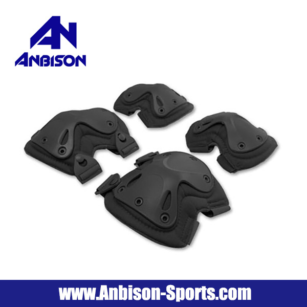 Swat X-Cap Airsoft Paintball Knee & Elbow Pads