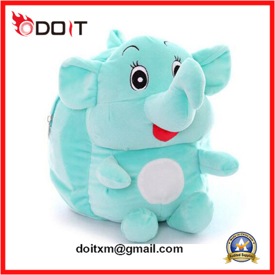 Baby Cute Stuffed Toy Bags Plush Elephant Bag
