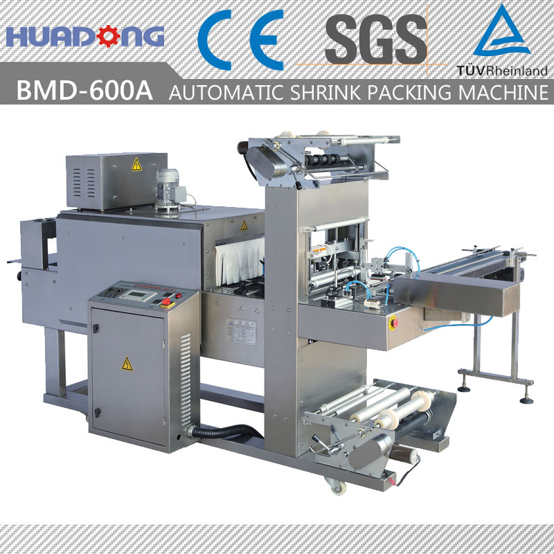 Automatic Medicine Bottle Heat Contraction Packing Machine