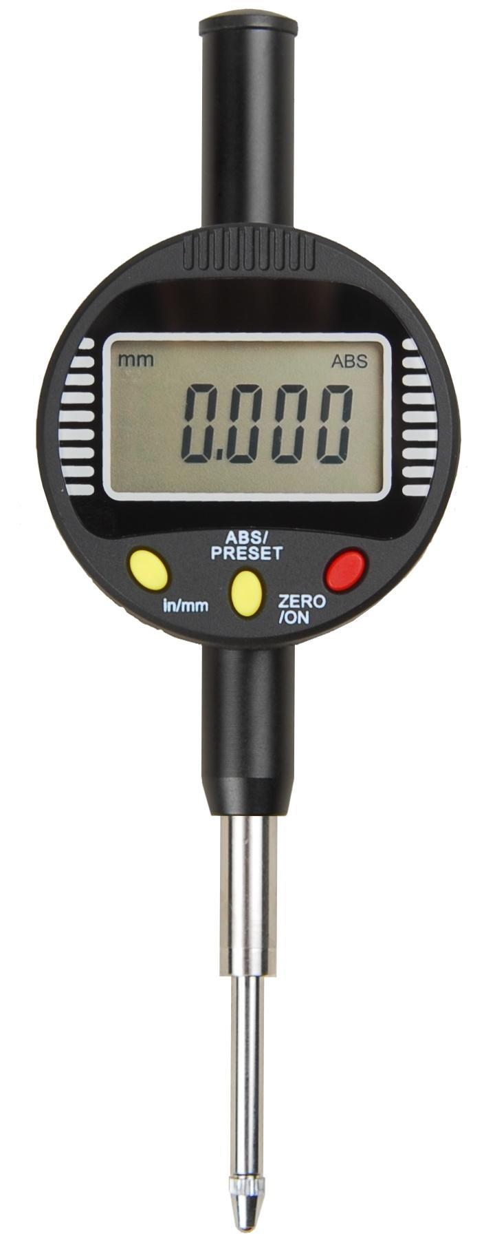 12.7mm Electronic Digital Micron Indicators Clocks Resolution 0.001 Dial Indicators