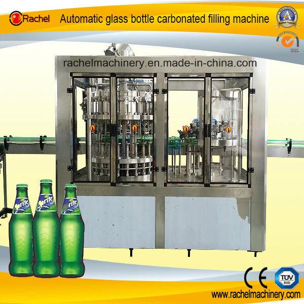 Glass Bottle Soda Beverage Automatic Filling Machine