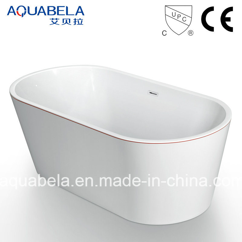 Ellipse Multi Function Acrylic White Bathtubs (JL603)