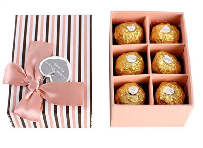 Fashion Custom Chocolate Cardboard Paper Gift Box