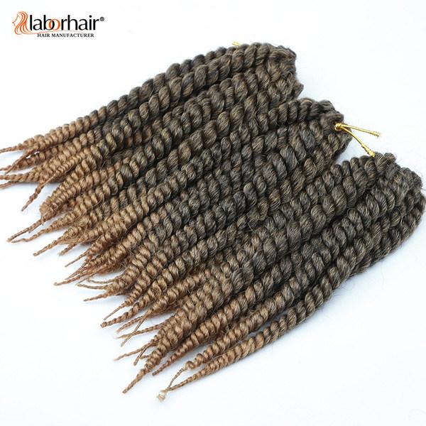 Havana Mambo Twist Crochet Hair Braid 100% Kanekalon Jumbo Braid Synthetic Hair Extension Lbh012