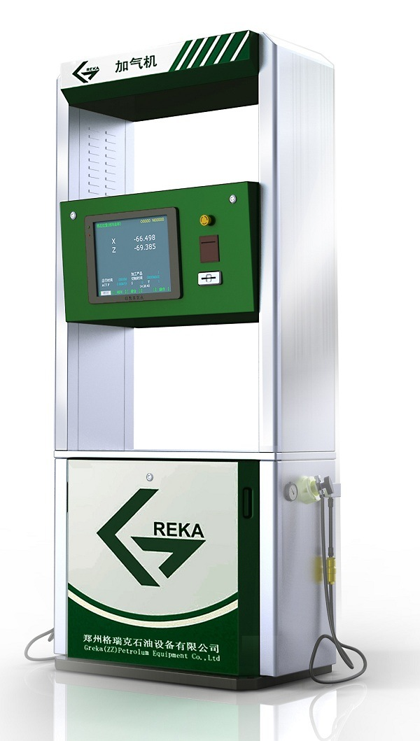 Professional Intelligent CNG Dispenser for Gas Station
